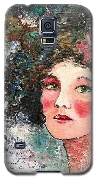 Queen Of Hearts Galaxy S5 Case