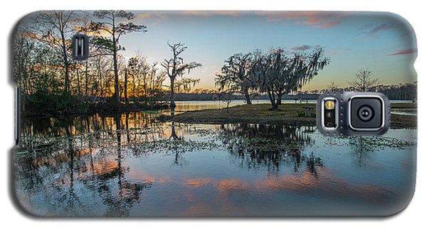 Quiet River Sunset Galaxy S5 Case