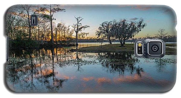 Quiet River Sunset Galaxy S5 Case