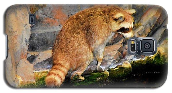 Raccoon 609 Galaxy S5 Case