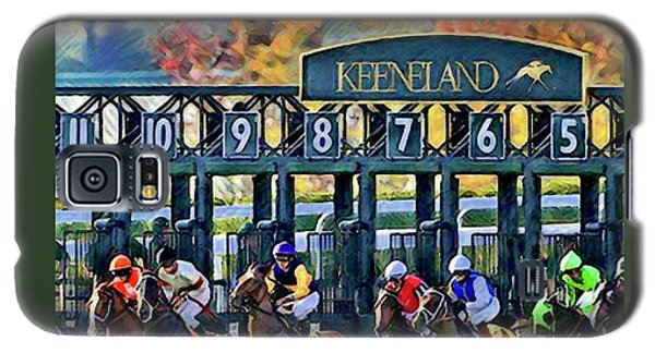 Fall Racing At Keeneland  Galaxy S5 Case
