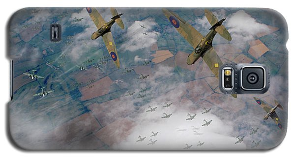 Raf Spitfires Swoop On Heinkels In Battle Of Britain Galaxy S5 Case