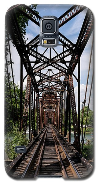 Railroad Bridge 6th Street Augusta Ga 1 Galaxy S5 Case