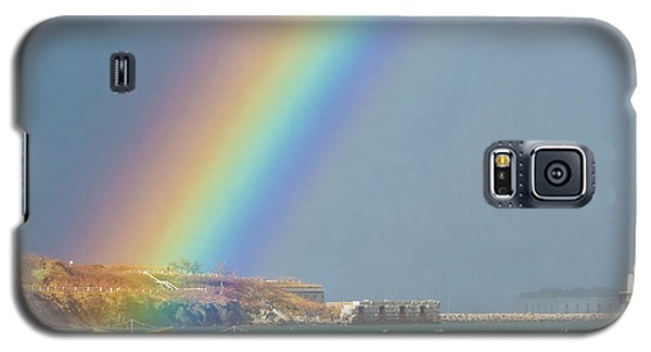 Rainbow At Spring Point Ledge Galaxy S5 Case