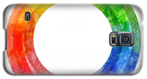 Rainbow Color Wheel Galaxy S5 Case