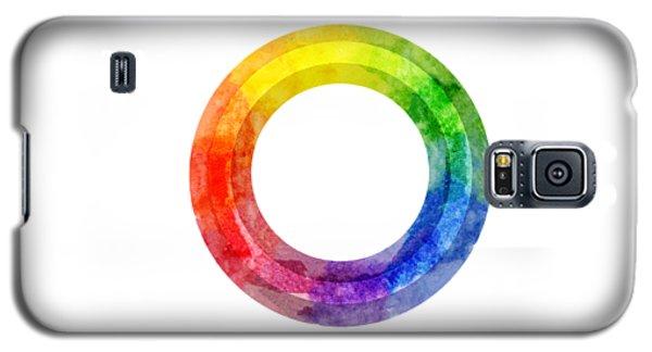 Rainbow Color Wheel Galaxy S5 Case