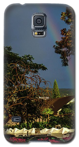Rainbow Ended At The Church Galaxy S5 Case