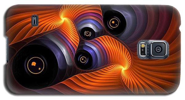Rainbow Eyes Galaxy S5 Case