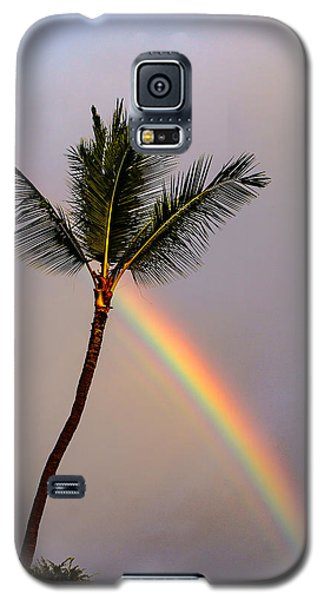 Rainbow Just Before Sunset Galaxy S5 Case