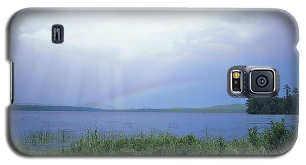 Rainbow Over Raquette Lake Galaxy S5 Case