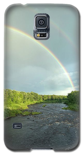 Rainbow Over The Littlefork River Galaxy S5 Case