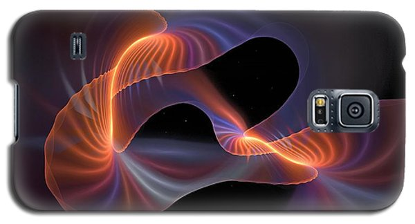 Rainbow Shimmer Galaxy S5 Case
