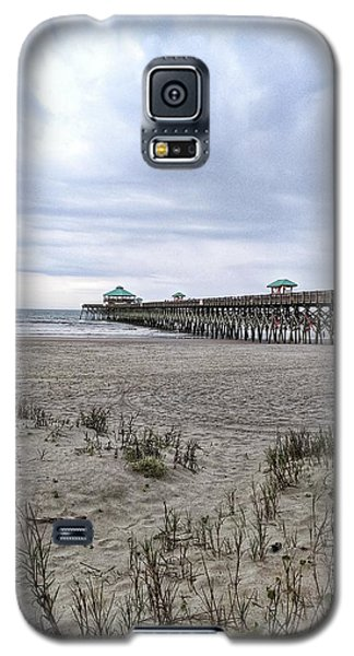 Rainy Beach Day Galaxy S5 Case