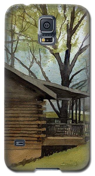Rainy Day At Harmonie Park Galaxy S5 Case