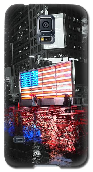 Rainy Days In Time Square  Galaxy S5 Case