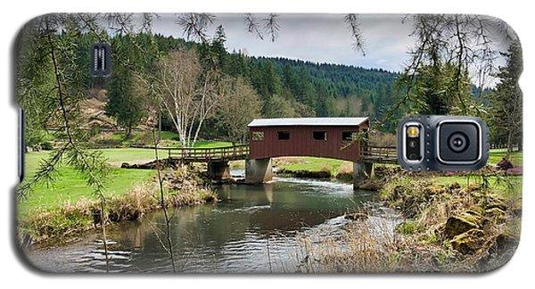 Ranch Hills Covered Bridge Galaxy S5 Case