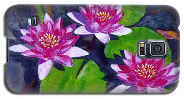 Rancho Water Lilies Galaxy S5 Case