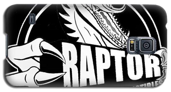 Raptor Comics Black Galaxy S5 Case