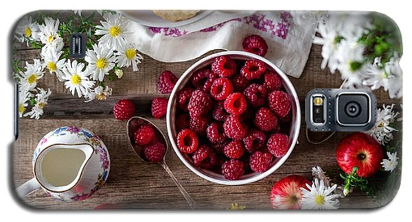 Raspberry Breakfast Galaxy S5 Case