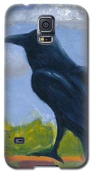 Raven On A Rail Galaxy S5 Case