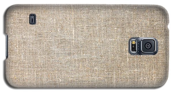Raw Natural Linen Galaxy S5 Case