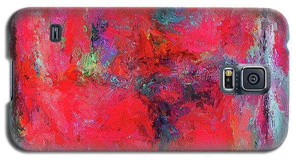 Rectangular Red Galaxy S5 Case