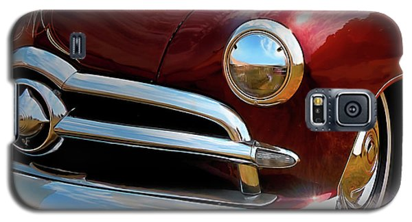 Red 1950 Ford Traditional Custom Galaxy S5 Case