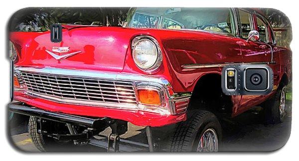 Red 1956 Chevy Gasser Galaxy S5 Case
