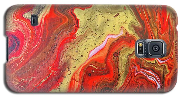Red And Gold Galaxy S5 Case