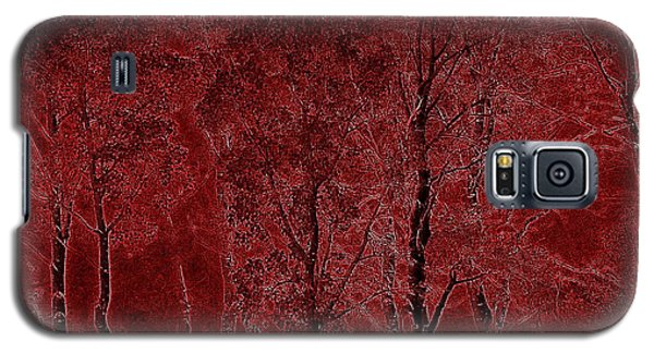 Red Aspen Grove Galaxy S5 Case