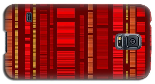 Red Bamboo Galaxy S5 Case