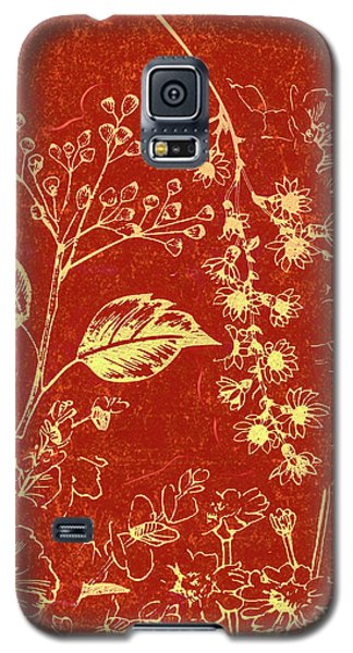 Orchid Galaxy S5 Case - Red Blossoms by Jorgo Photography - Wall Art Gallery