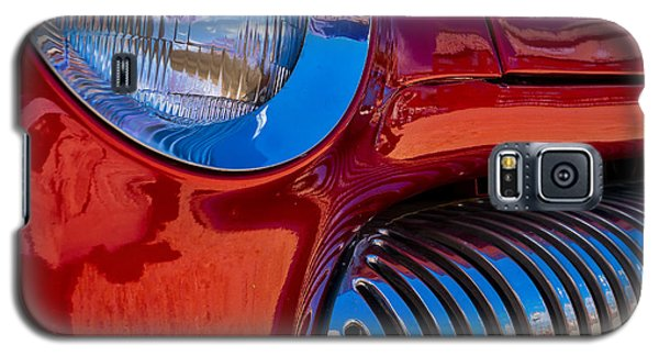 Red Car Chrome Grill Galaxy S5 Case
