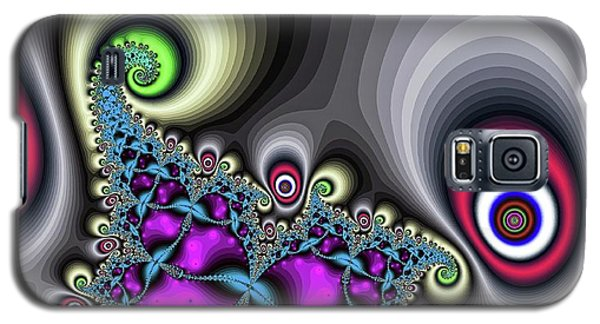 Red Circus Eyes Galaxy S5 Case