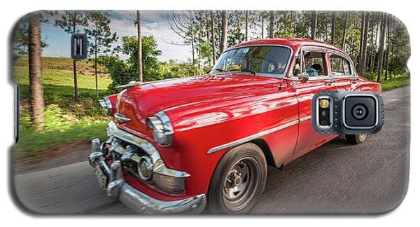 Red Classic Cuban Car Galaxy S5 Case