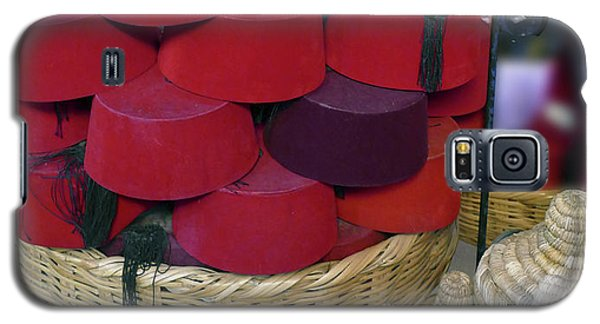 Red Fez Tarbouche And White Wicker Tagine Cookers Galaxy S5 Case