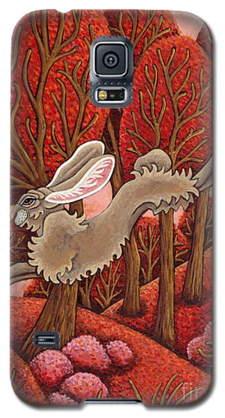 Red Forest Run Galaxy S5 Case