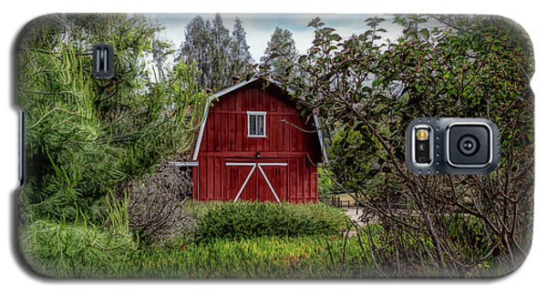 Red House Over Yonder Galaxy S5 Case