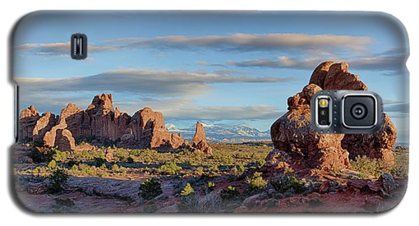 Red Rock Formations Arches National Park  Galaxy S5 Case