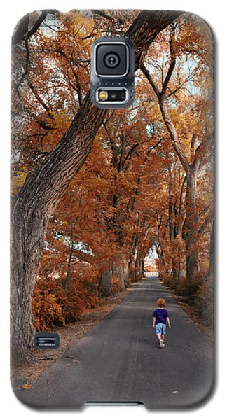 Redhead Fall Walkabout Galaxy S5 Case