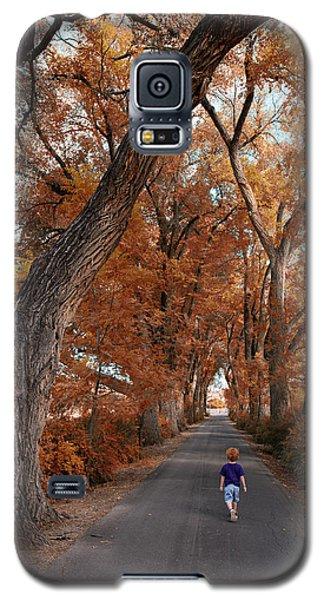 Redhead Fall Walkabout Galaxy S5 Case