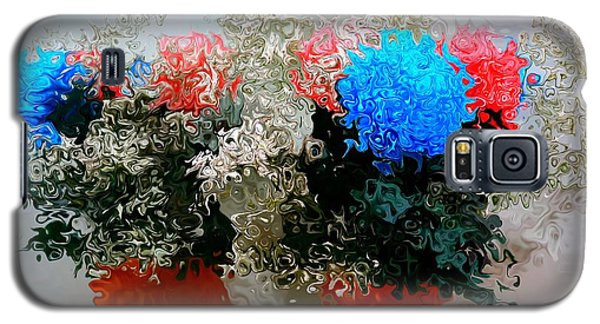 Reflection Of Flowers In The Mirror In Van Gogh Style Galaxy S5 Case