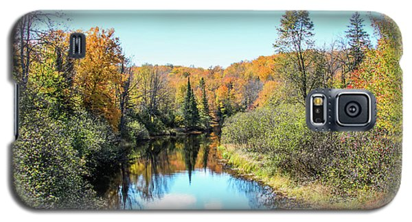 Reflections Of Fall In Wisconsin Galaxy S5 Case