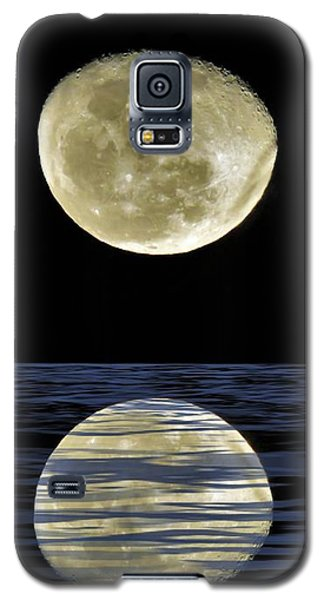 Reflective Moon Galaxy S5 Case