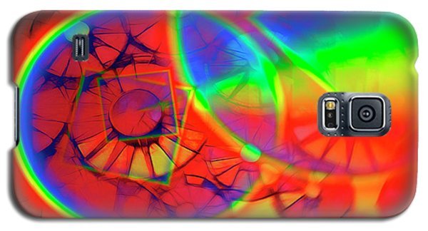 Refracting The Wheel Galaxy S5 Case