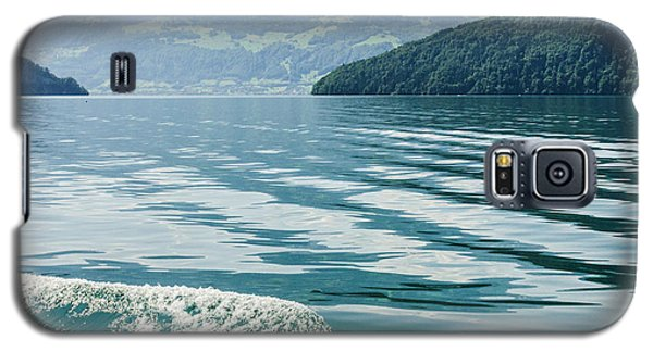 Ripples On Lake Lucerne Galaxy S5 Case