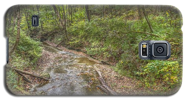 River Flowing Through Pine Quarry Park Galaxy S5 Case