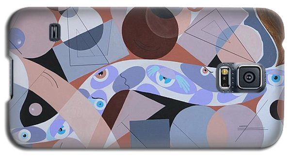 River Of Eyes Galaxy S5 Case