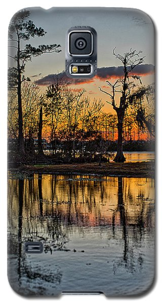 Riverside Sunset Galaxy S5 Case