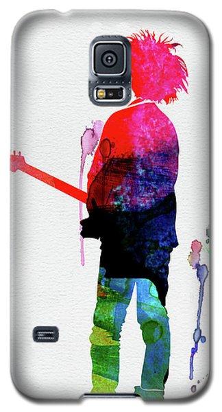 Robert Smith Music Galaxy S5 Case - Robert Smith Watercolor by Naxart Studio